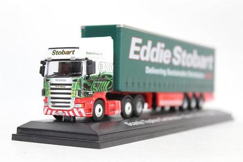 Atlas Oxford Scania Topline 'Eddie Stobart' Curtainside Lorry U7