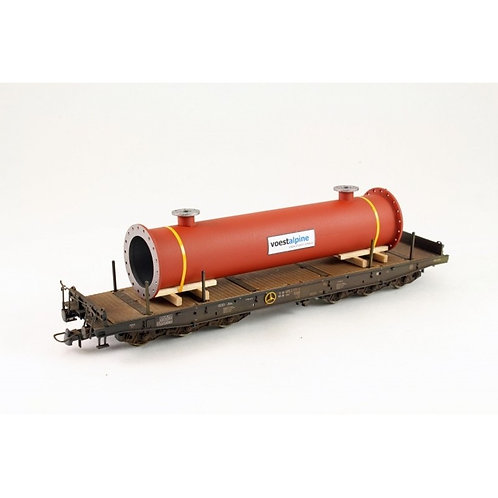 Red Oxide Large Flanged Pipe Load BAH01051