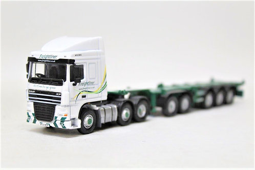 Oxford DAF03CT DAF Freightliner Container Skeletal Trailer Lorry 1/76 OO (Q12)