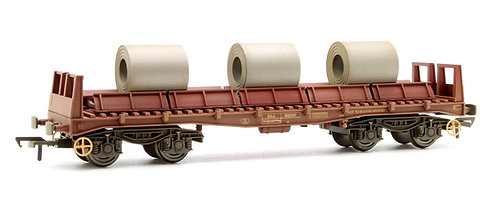 Bachmann 38-353 BAA Steel Carrier Wagon BR Brown OO Gauge 1/76 (F22)