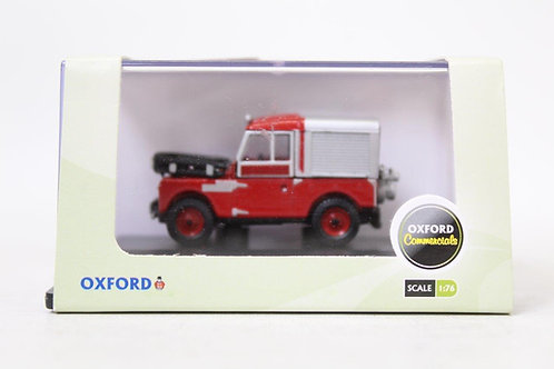 """Oxford Red Land Rover 88"""" Fire U10"""