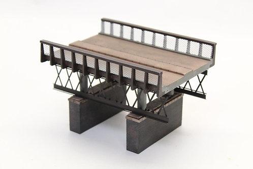 Bachmann 44-0041 Rail over River Bridge OO Gauge 1/76 L12