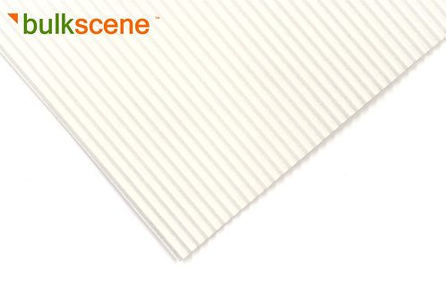 White 2.5mm Corrugated Metal Sheet Size