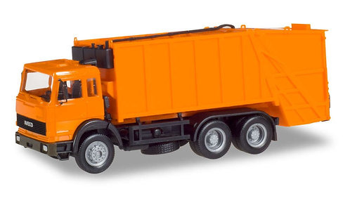Herpa Iveco Turbo Dustbin Lorry HO (B14)