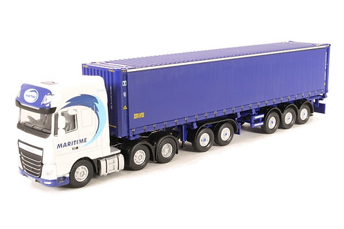 Oxford 76DXF001 Maritime Container Combi Lorry D17