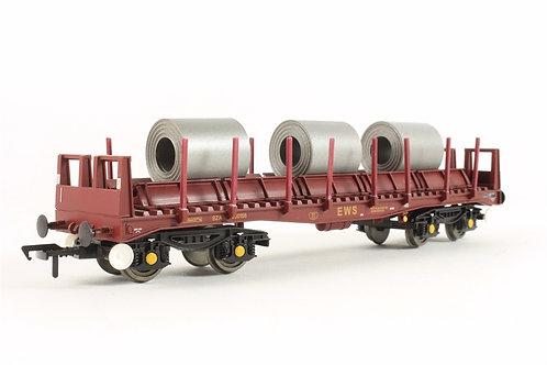 Bachmann 38-350A BZA Steel Carrier Wagon Brown OO Gauge 1/76 (R8)