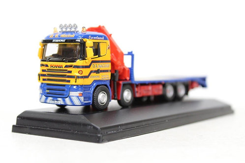 Oxford Scania Crane Lorry DR Macleod D15