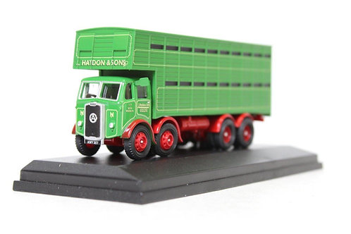 Oxford Atkinson 8 Wheel Green Cattle Truck D15