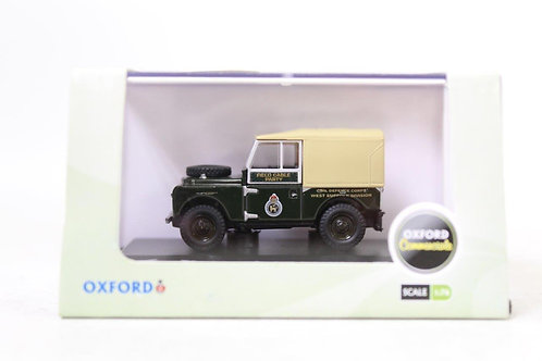 """Oxford Land Rover 88"""" 'Civil Defence Corps' Canvas Top U8"""