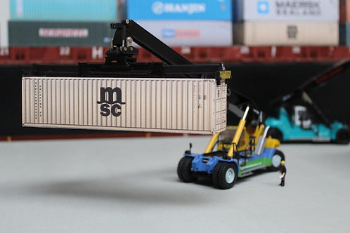 MSC Weathered 40ft Card Container