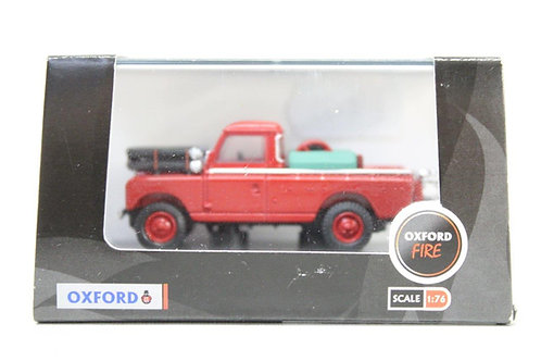 Oxford Red Land Rover Series II Fire Appliance M14