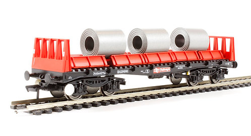 Bachmann 38-352 BAA Steel Carrier Wagon Railfreight OO 1/76 (Q5)