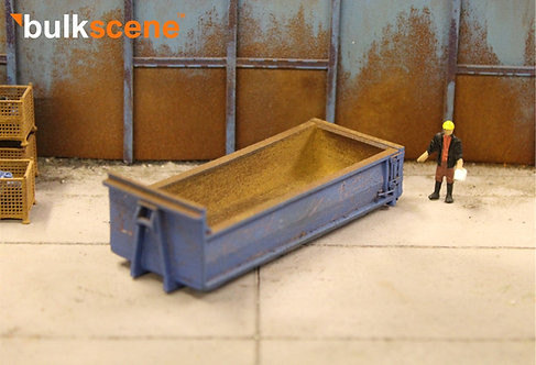 Smooth Sided Super Low Hook Lift Skip Roll on Roll off - Blue