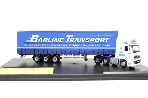 Oxford VOL01CS 'Barline' Volvo FH Curtainside Lorry N7