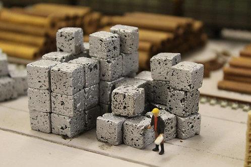 Crushed Aluminium Scrap Bales (x16) OO Gauge