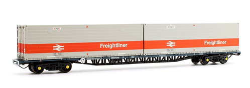 Bachmann 38-626 FFA BR Freightliner Inner Container Flat ISO Containers