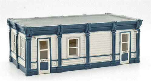 Bachmann 44-0043 Waiting Room & Ladies OO Gauge 1/76 (O17)