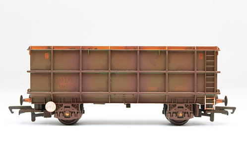 Bachmann 33-426 51T POA/SSA Scrap Wagon OO Gauge Weathered (E18)