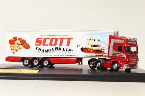 Oxford Scott Trawlers Scania Fridge Lorry D2