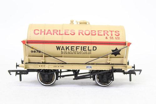Bachmann 37-650K 14T 'Charles Robert' Oil Tanker Wagon E17