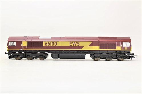 Lima L205197 Diesel Locomotive EWS Class 66100 OO Gauge 1/76 Y5