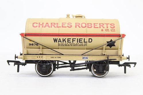 Bachmann 37-650K 14T 'Charles Robert' Oil Tanker Wagon T3