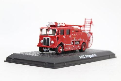 Atlas Oxford AEC Regent III Fire Engine London U7