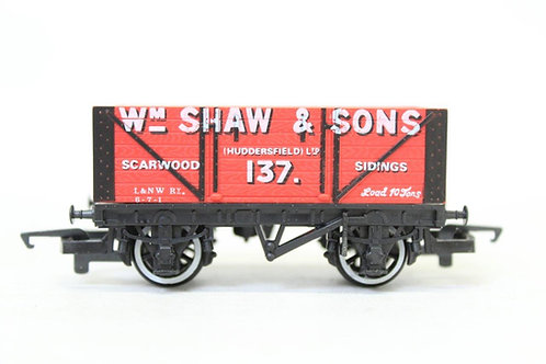 Hornby R.139 'William Shaw' Open Coal Wagon T7