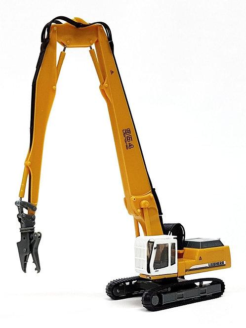 Liebherr Crawler Excavator 954L Longfront + Demolition Grapple (C12)