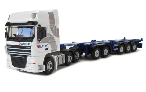 Oxford DAF02CT Bulmers Container Combi Lorry 1/76 OO (Q12)