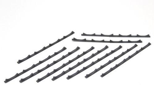 Steel Coil Floor Seat Strips (x10)