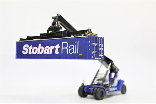 Oxford Blue Stobart Container Handler OO Gauge 1/76 (C11)
