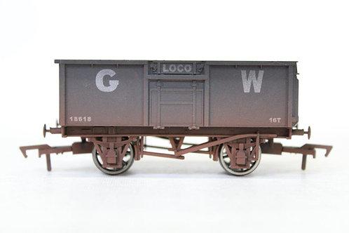 Dapol GWR Loco 16T Open Coal Steel Wagon Weathered N13