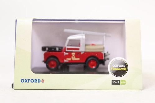 "Oxford Land Rover 88"" 'BR' Fire Tender U8"