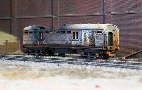 Fire Damaged Royal Mail Coach (B12)