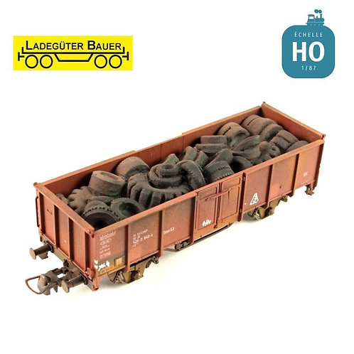 Scrap Used Tyres Load BAH01027