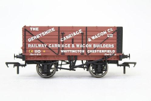 Bachmann 37-080W 7 Plank Open Wagon 'Derbyshire' E21