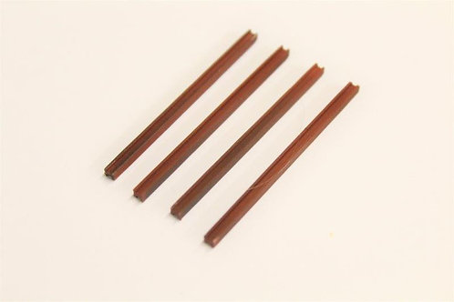 Girder Posts 48 x 2.4 x 2.4mm - Pack of 4 Painted & Weathered