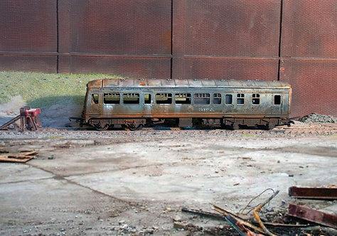 Scrap DMU Diesel Locomotive (Q18)