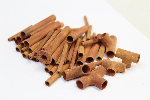 Rusty Scrap Pipes - Large Mixed Pack (65 pipes)