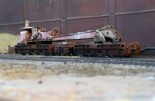 Scrap Derelict Breakdown Crane (B12)
