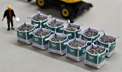 TP Tonne Bags w/ 1mm grey ballast loads - Pack of 10