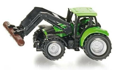 Siku 1380 Front Log Loader Tractor HO 1/87 (C7)