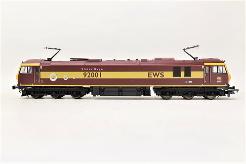 Lima L204672 Electric Locomotive EWS Class 92001 OO Gauge 1/76 N14