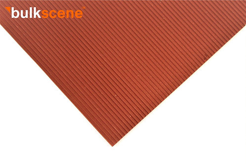 Red Oxide 1.2mm Corrugated Metal Sheet Sizes