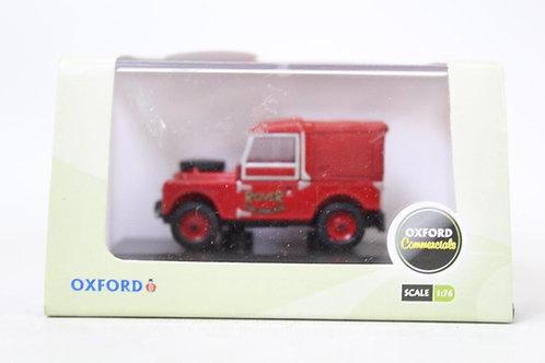 "Oxford Land Rover 88"" Fire Brigade Canvas Top U8"