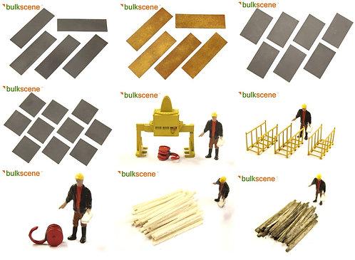 Bulkscene Steel Plates Handling Set - Full Pack