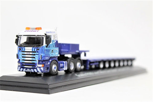 Atlas Oxford R560 Scania Low Loader Lorry OO Gauge 1/76 (F12)