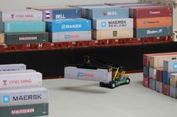 Container Dockside Scene OO