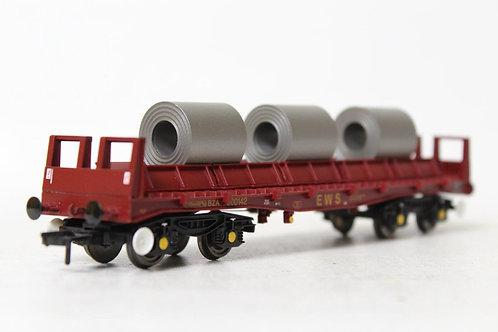Bachmann 38-350 BZA Steel Carrier Wagon EWS OO Gauge 1/76 (B15)